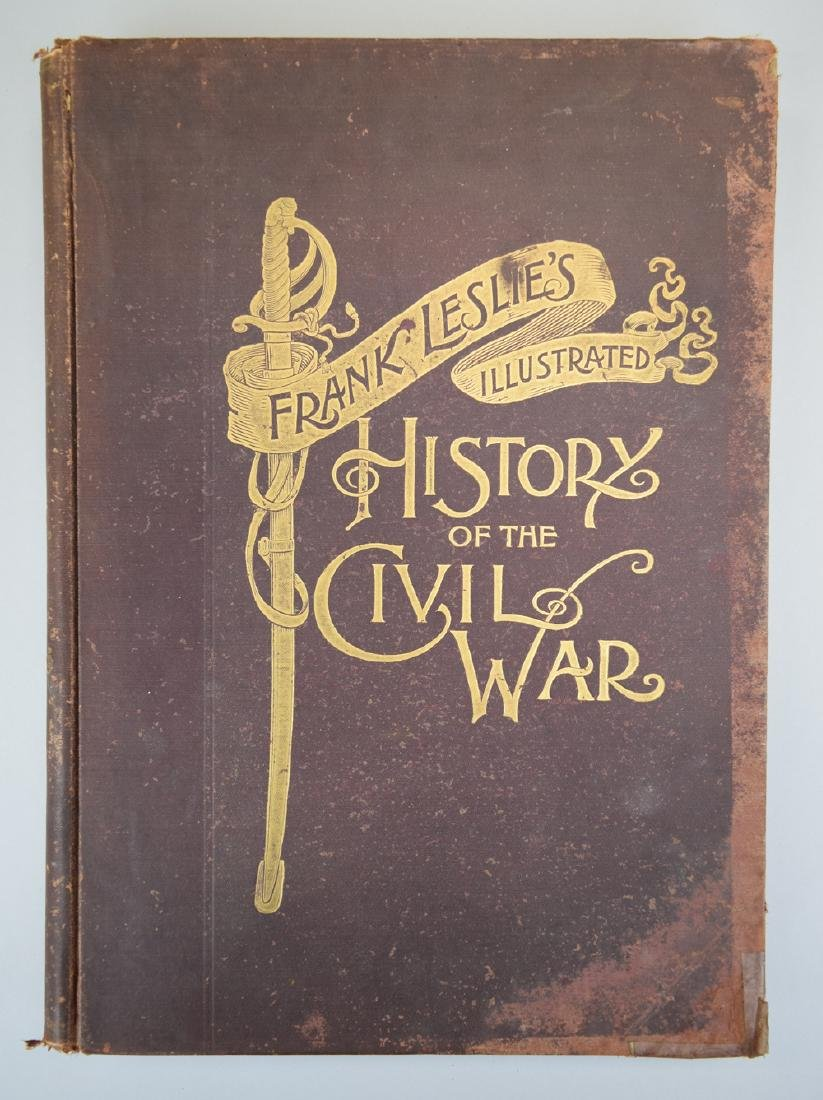 """An Amazing Book Published by Frank Leslie """"History of"""