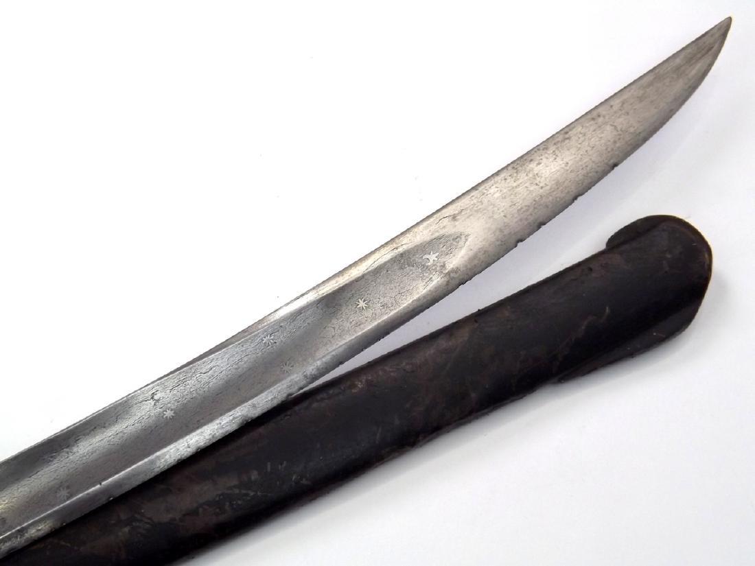 Early French Napoleonic era Damascus Hussar Sword, - 10