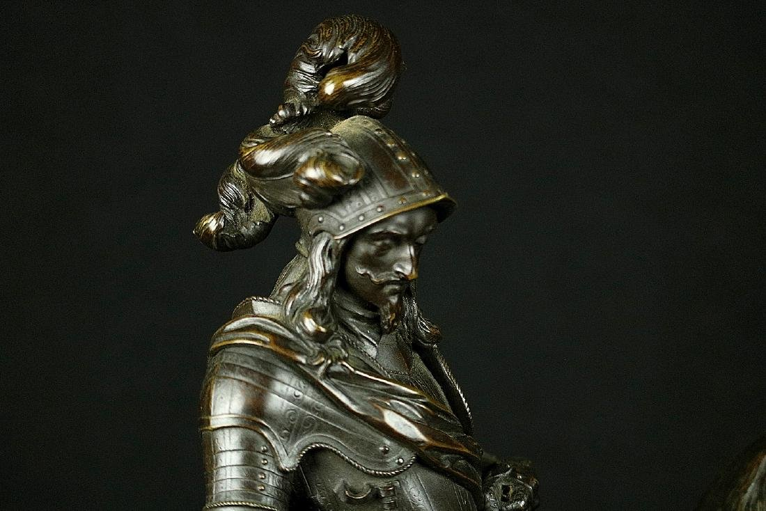 Fine Antique Bronze Sculpture of a 16th-17th C. French - 9