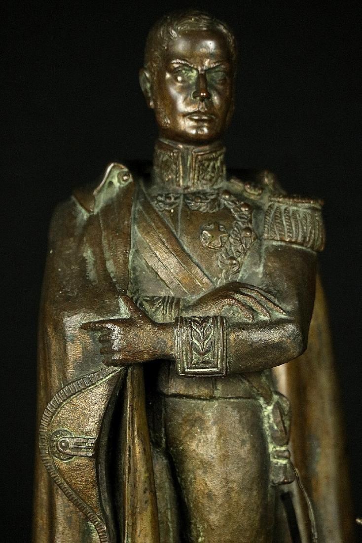 19th C. Estate Bronze Sculpture of a Napoleon Bonaparte - 2