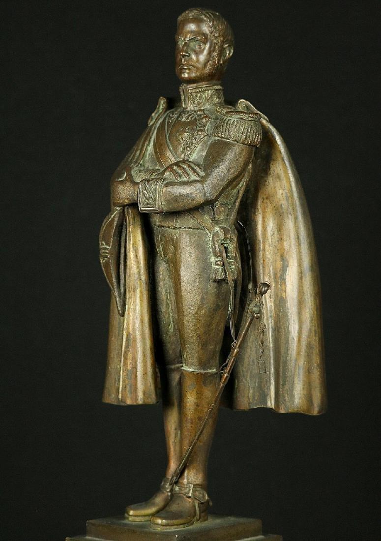 19th C. Estate Bronze Sculpture of a Napoleon Bonaparte - 5