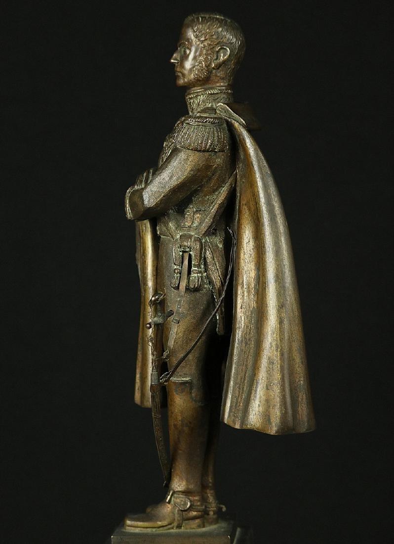 19th C. Estate Bronze Sculpture of a Napoleon Bonaparte - 6