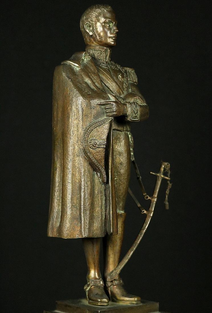 19th C. Estate Bronze Sculpture of a Napoleon Bonaparte - 7
