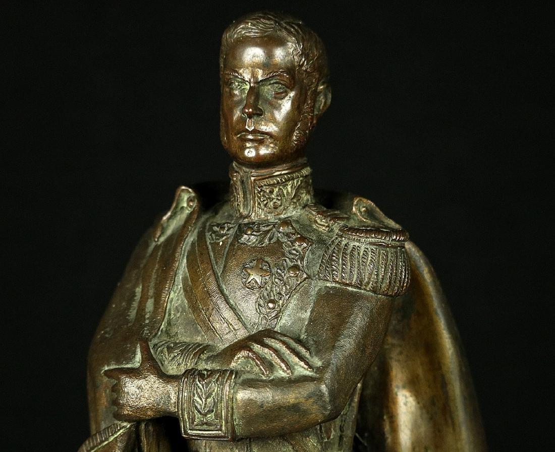 19th C. Estate Bronze Sculpture of a Napoleon Bonaparte - 8