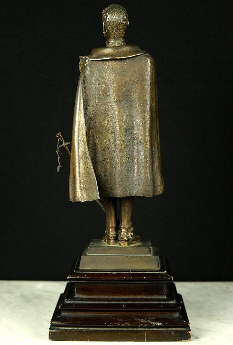 19th C. Estate Bronze Sculpture of a Napoleon Bonaparte - 9