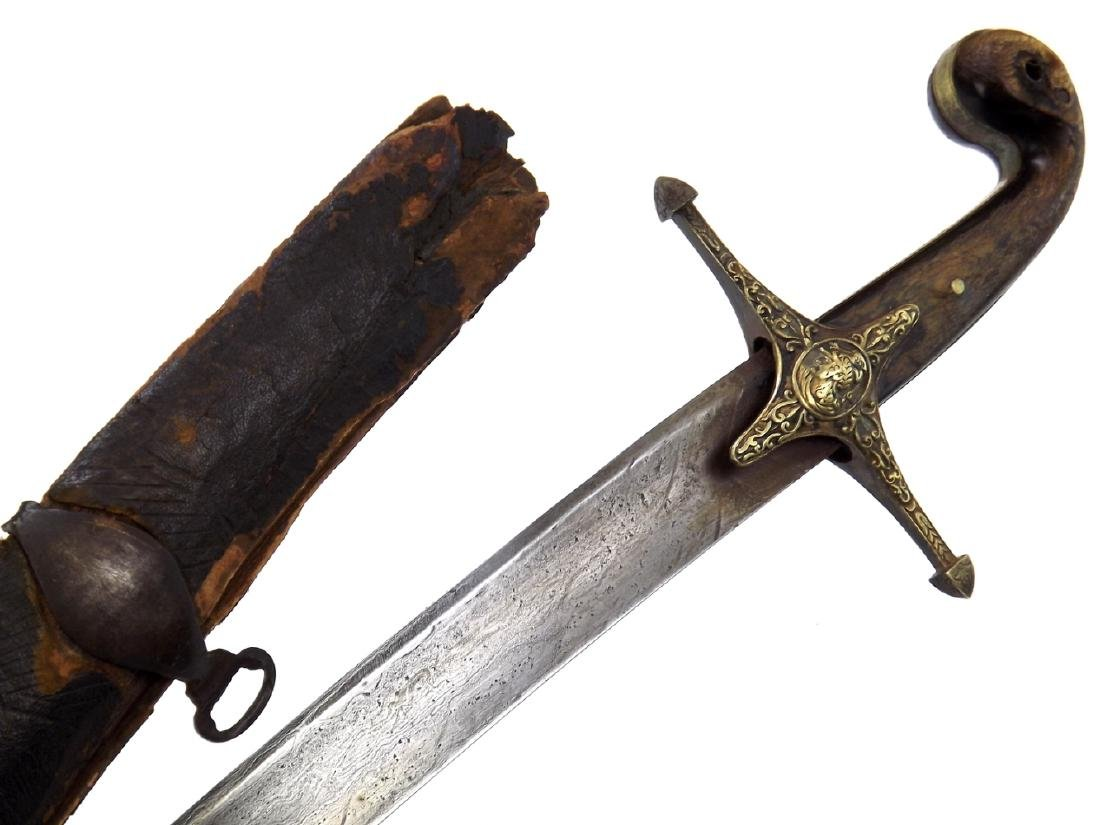 French Napoleonic Mamluk Officer's Damascus Sword in