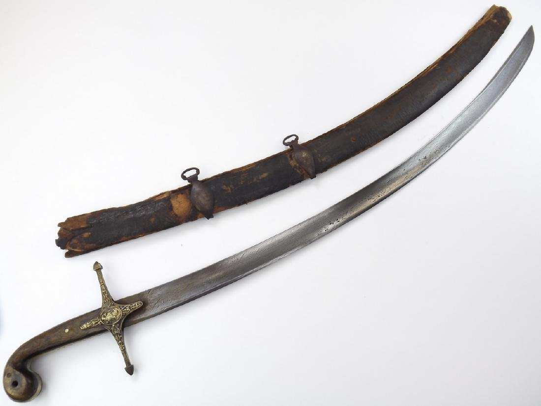 French Napoleonic Mamluk Officer's Damascus Sword in - 3