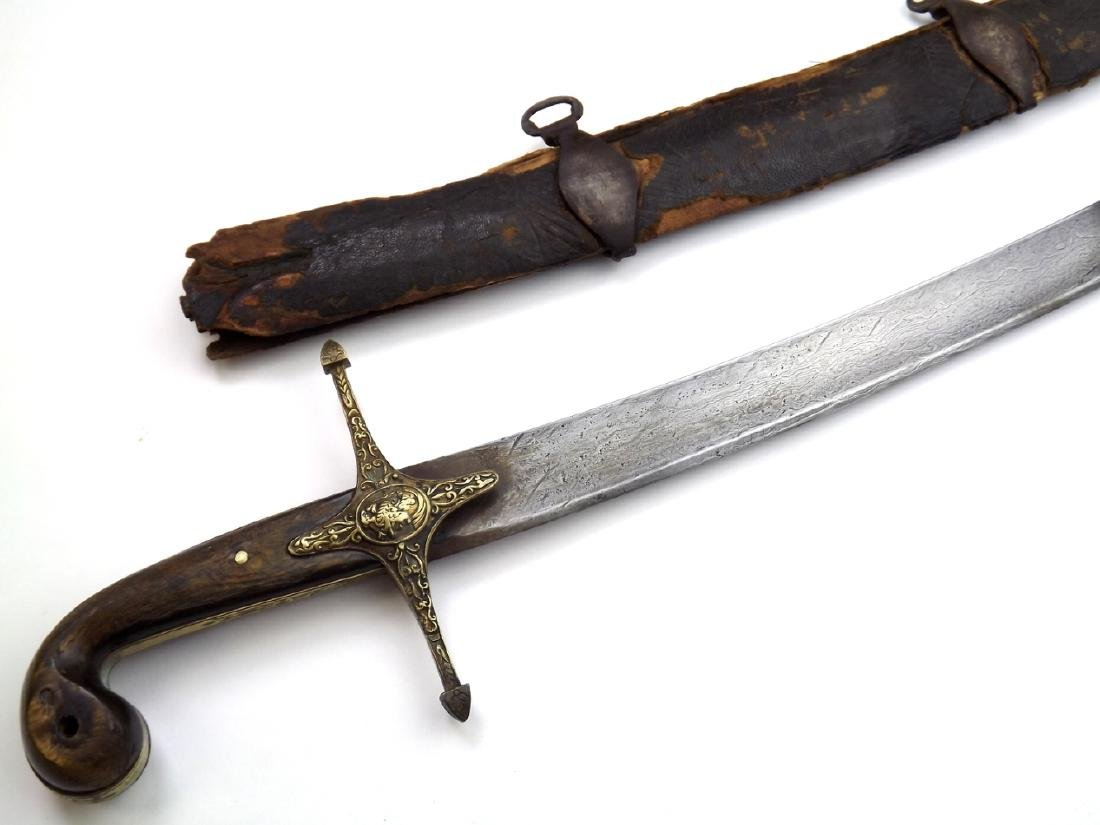 French Napoleonic Mamluk Officer's Damascus Sword in - 4