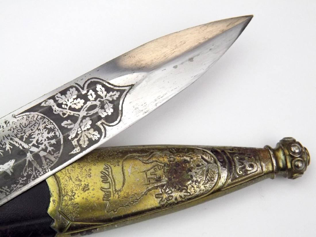 WWI to WWII German Forestry Official's Hunting Dagger - 7