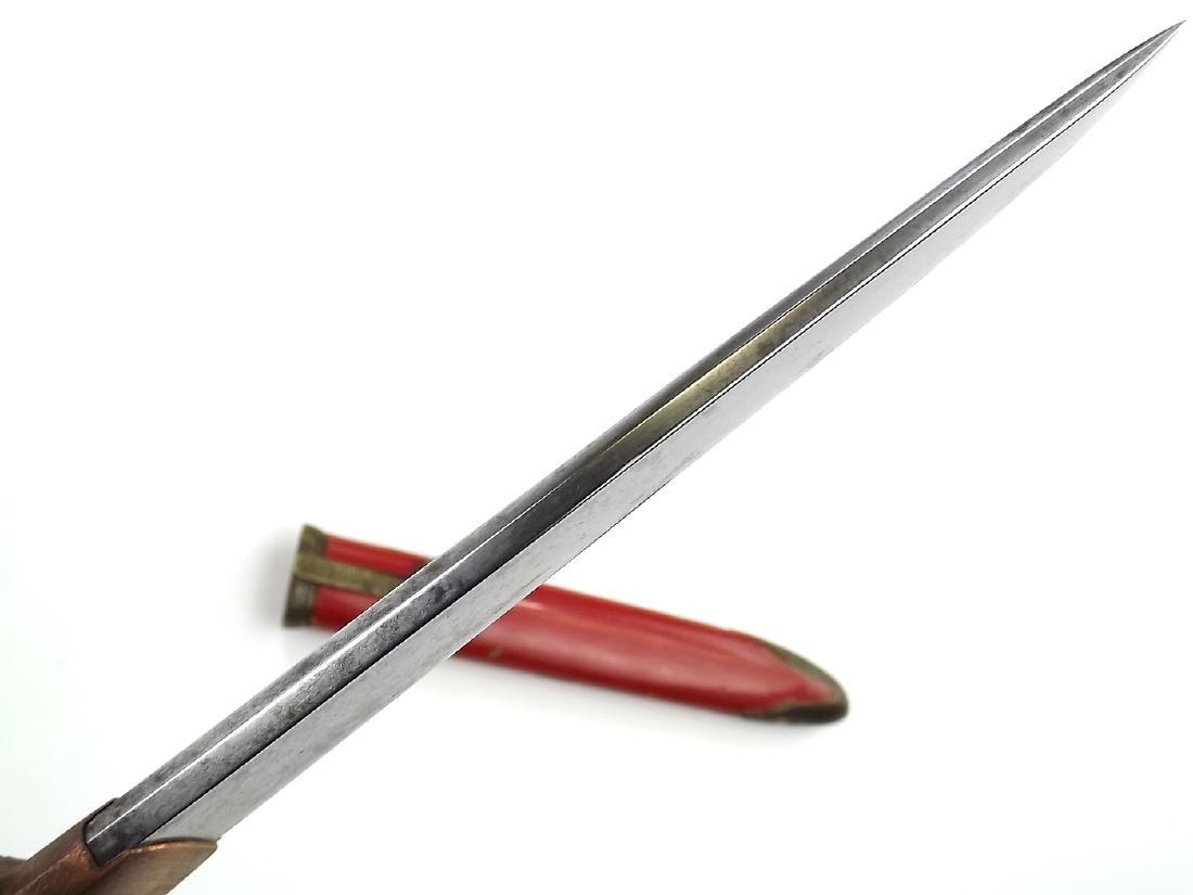 18th - 19th C. Japanese Ladies Tanto Aikuchi Dagger - 10