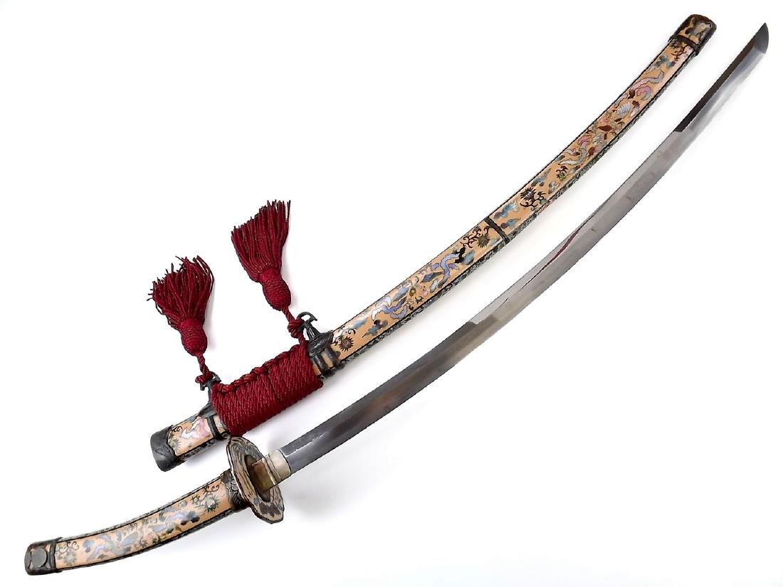 Magnificent 19th C. Japanese Tachi Sword in High - 10