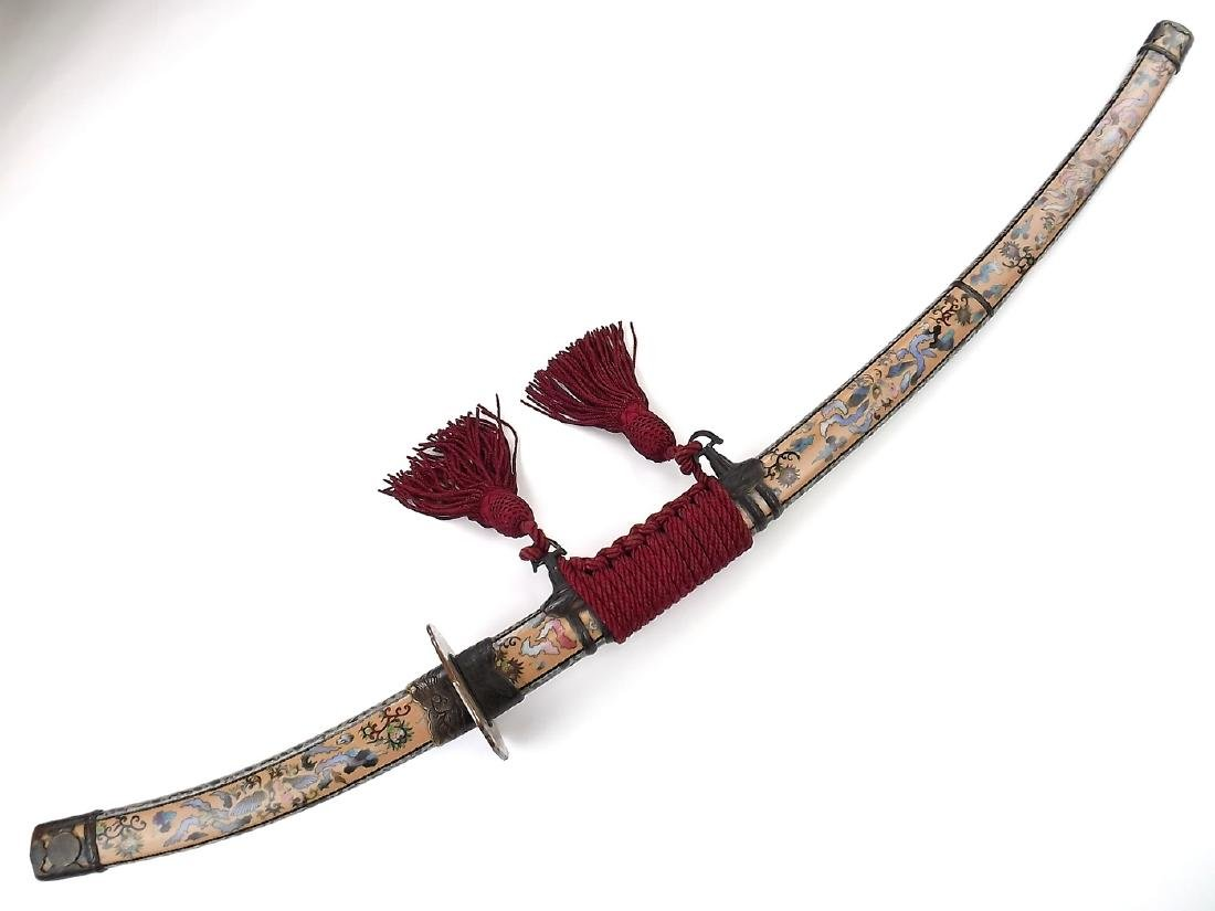 Magnificent 19th C. Japanese Tachi Sword in High