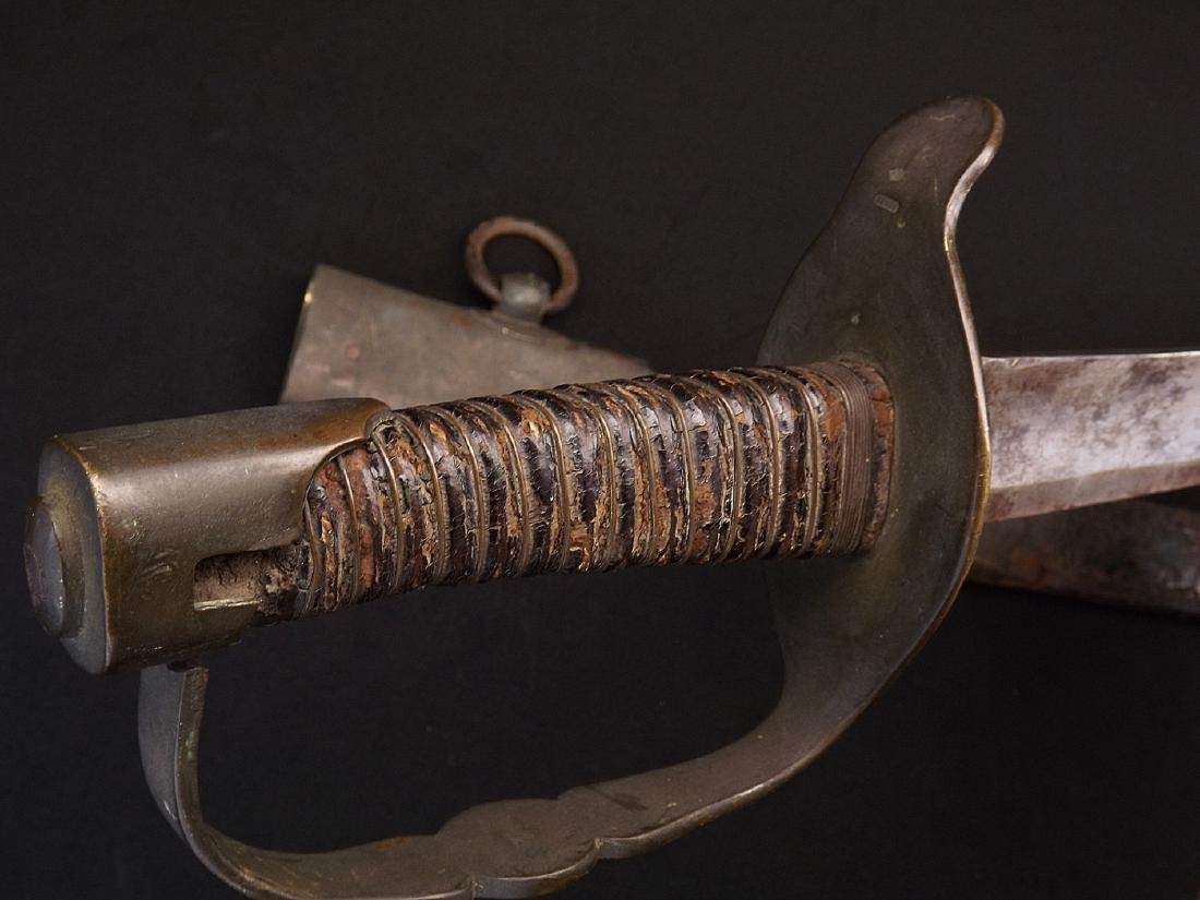 Napoleonic Era French Officers Sword later Altered for - 10