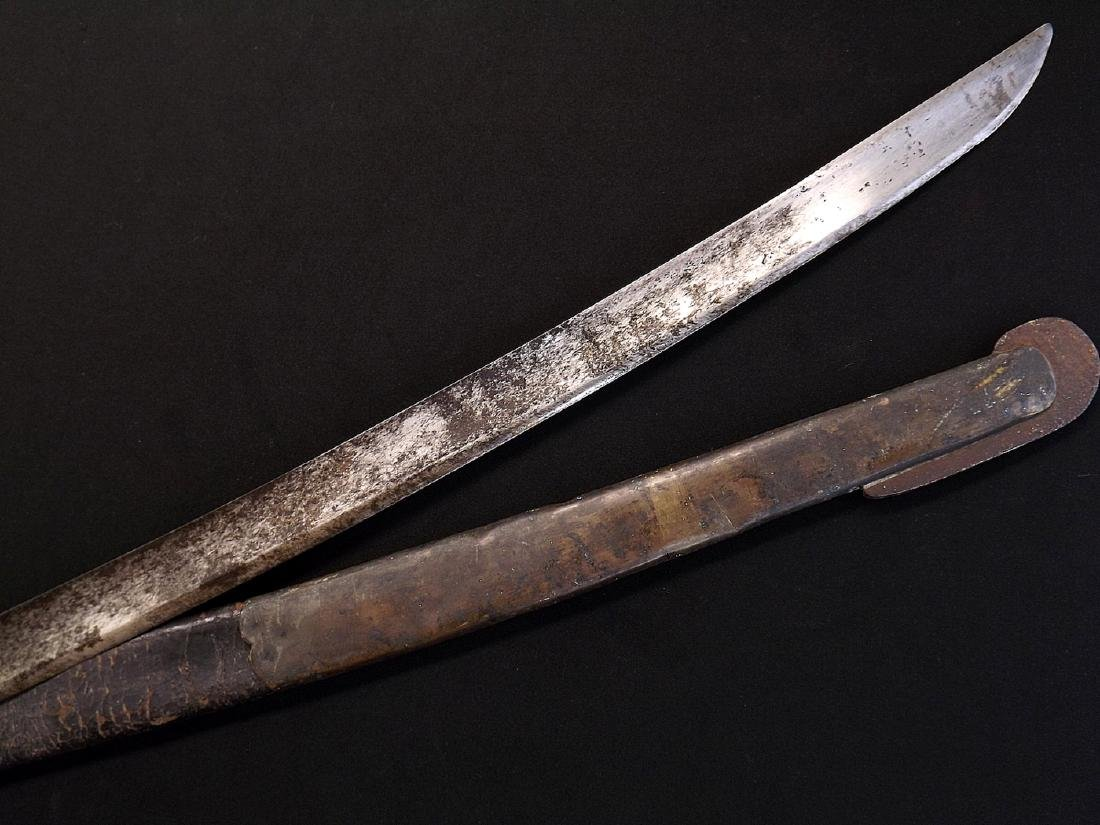 Napoleonic Era French Officers Sword later Altered for - 9