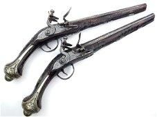 Very Fine Pair of 18th-19th C. Ottoman Turkish