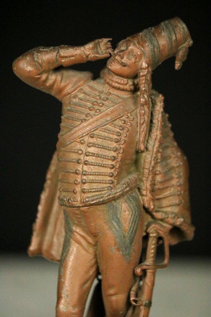 19th C. Cast Metal Statute Figure of French Napoleonic - 2