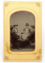 SENSATIONAL  Authenticated  BILLY THE KID Tintype Image