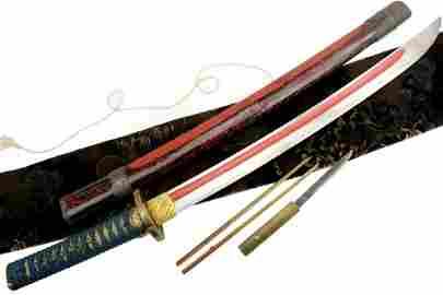 Magnificent MASSIVE Japanese Exhibition Level Sword ~