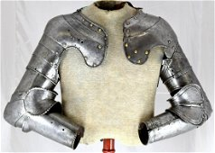 Rare 15th-17th C. Pair of Large Size Arms for a