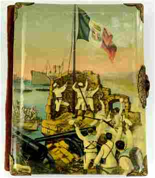 Beautiful Large WW I era Italian Photo Album with Naval