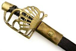 Rare French 1786 Model Cavalry Officer's Battle Sword ~