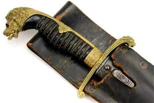 Imperial German WW I Officer's Fighting Dagger Dirk