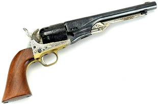 HIGHLY DECORATED ITALIAN REPLICA OF A REMINGTON ARMY