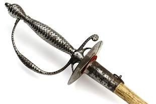 Very Nice American Revolution Officer's Rapier Sword