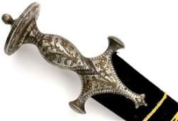 Rare 18th-19th C. Mughal Indian Tulwar / Shamshir Sword