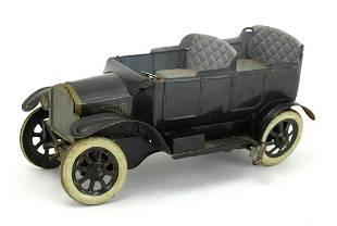 Rare Early German Orobr Tin Litho Car