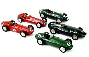 Lot 5 Vintage Merit England Race Cars