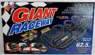 NEW AFX Giant Raceway 62.5' HO Slot Car Track Set