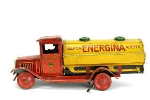 Exceedingly Rare Matarazzo Argentina Tinplate Wind