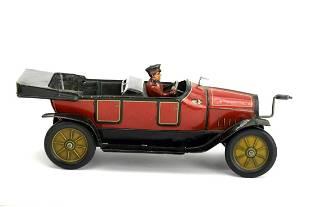 Vintage Hess Mobile Crank German Touring Car