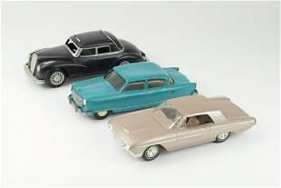 Lot Of 3 Vintage Dealer Promo Cars