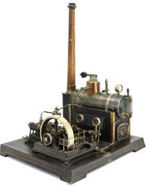 Rare DC Doll et Cie Antique ca.1920's Extra Large Steam