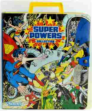Vintage Kenner 1984 SUPER POWERS With Carrying Carry
