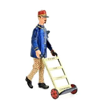 Lehmann Adam the Porter Wind-Up Toy Germany