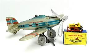 TippCo Wind Up Airplane TC 55 c.1950-1959 US zone