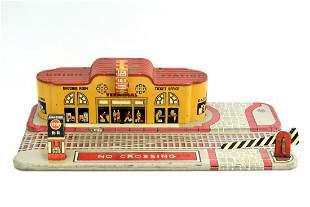 1960's Marx Tin Litho Union Train Station