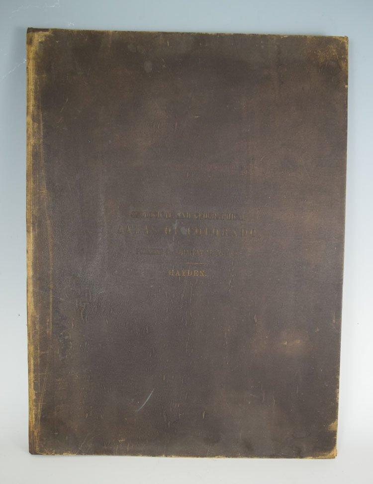 Geological, geographical atlas of Colorado. Hayden,