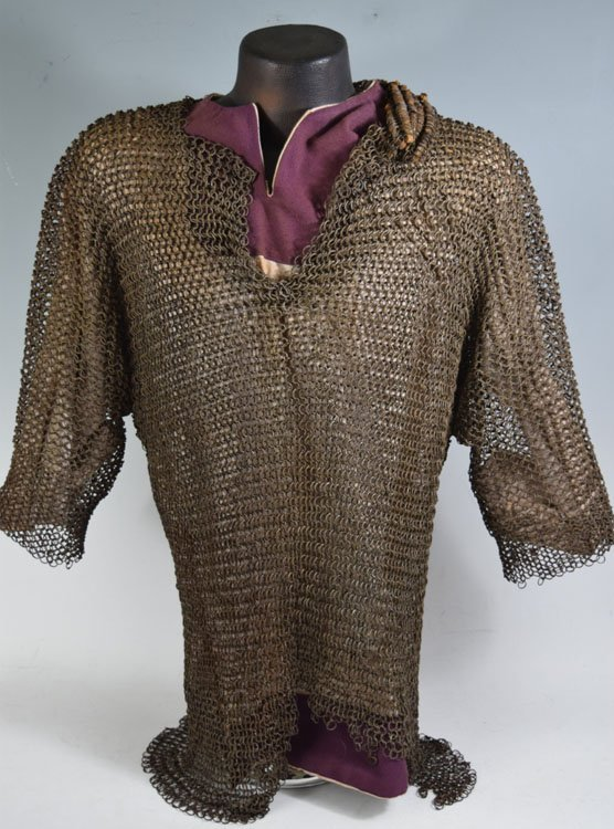 Important 18 C. Ottoman Mail Shirt