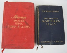 Lot Of Two Old Travel Books