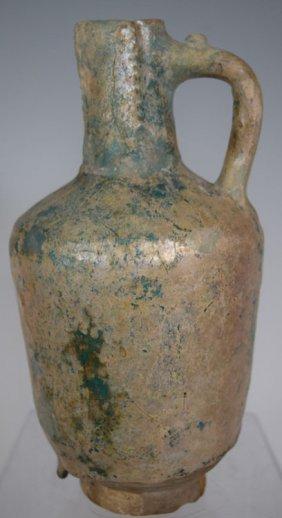 12th Century Persian Islamic Gurgon Ceramic Pitcher