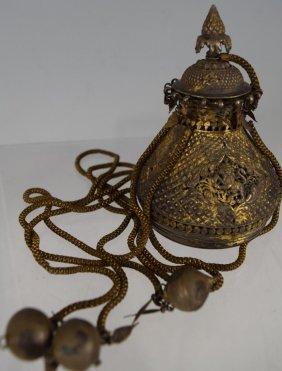 18th Century Central India Incense Burner