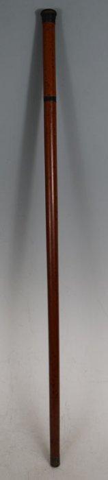 Antique Walking Cane With Whisky Bottle