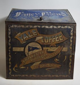 Advertisment Country Store Coffee Bins, Yale Coffee Box