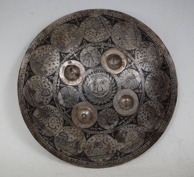 Indo-Persian Steel Shield