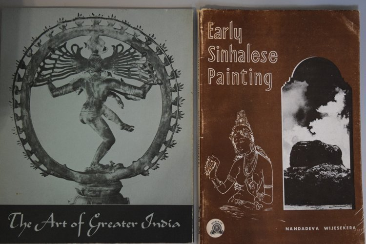 Lot of Twelve books and Journals on India Art - 2