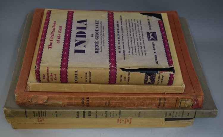 Lot of Five Books on Indian Art and History